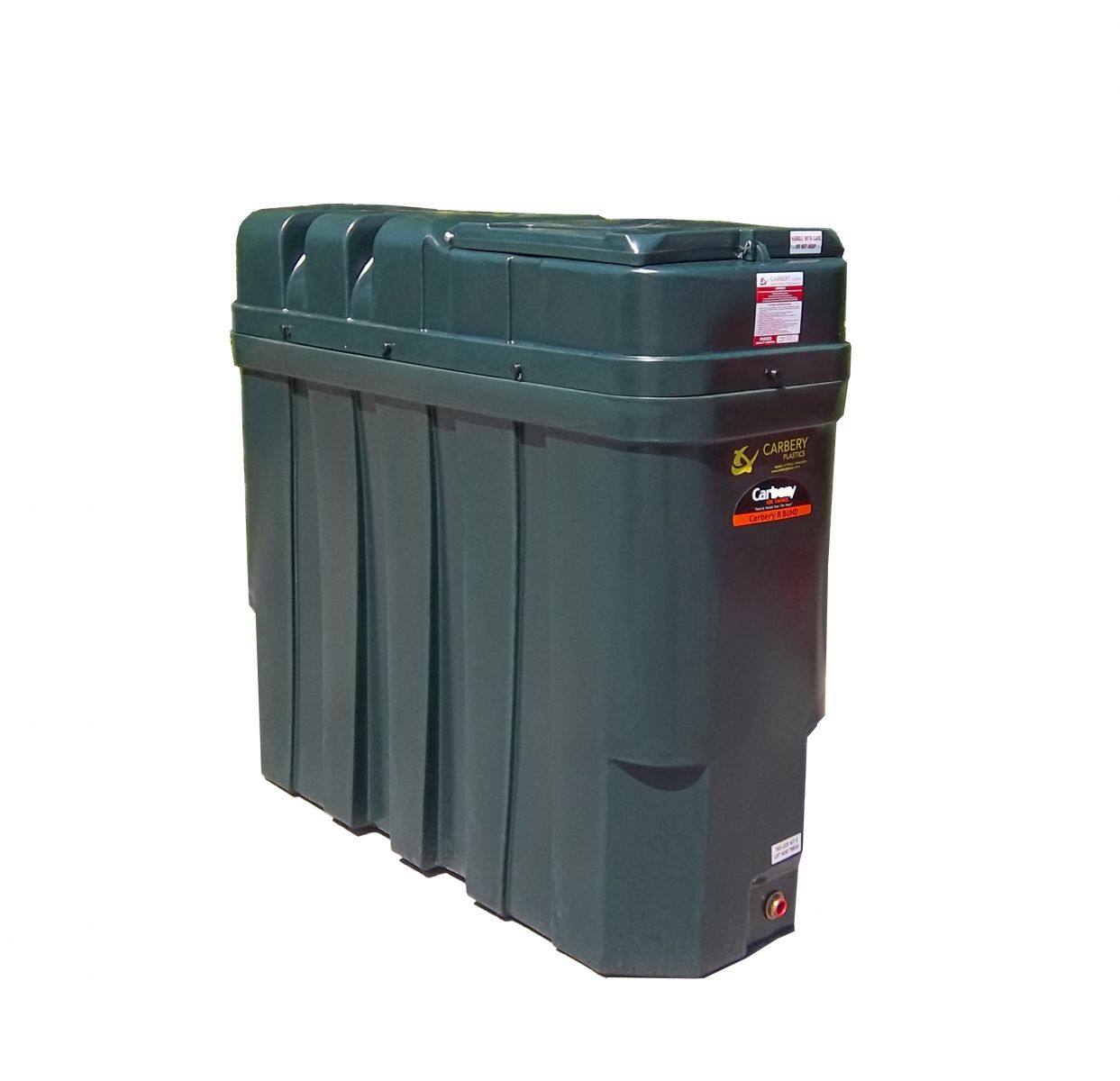 Carbery 1000SB Superslim Bunded Oil Tank
