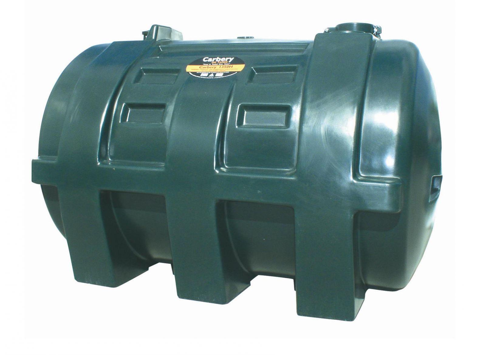 Carbery 1350H Horizontal Single Skin Oil Tank