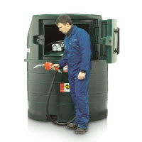 Harlequin 1400FP Fuel Point Bunded Diesel Storage and Dispensing Tank