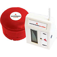 Titan Ecosafe Bunded Tanks: Oil Watchman Alarm