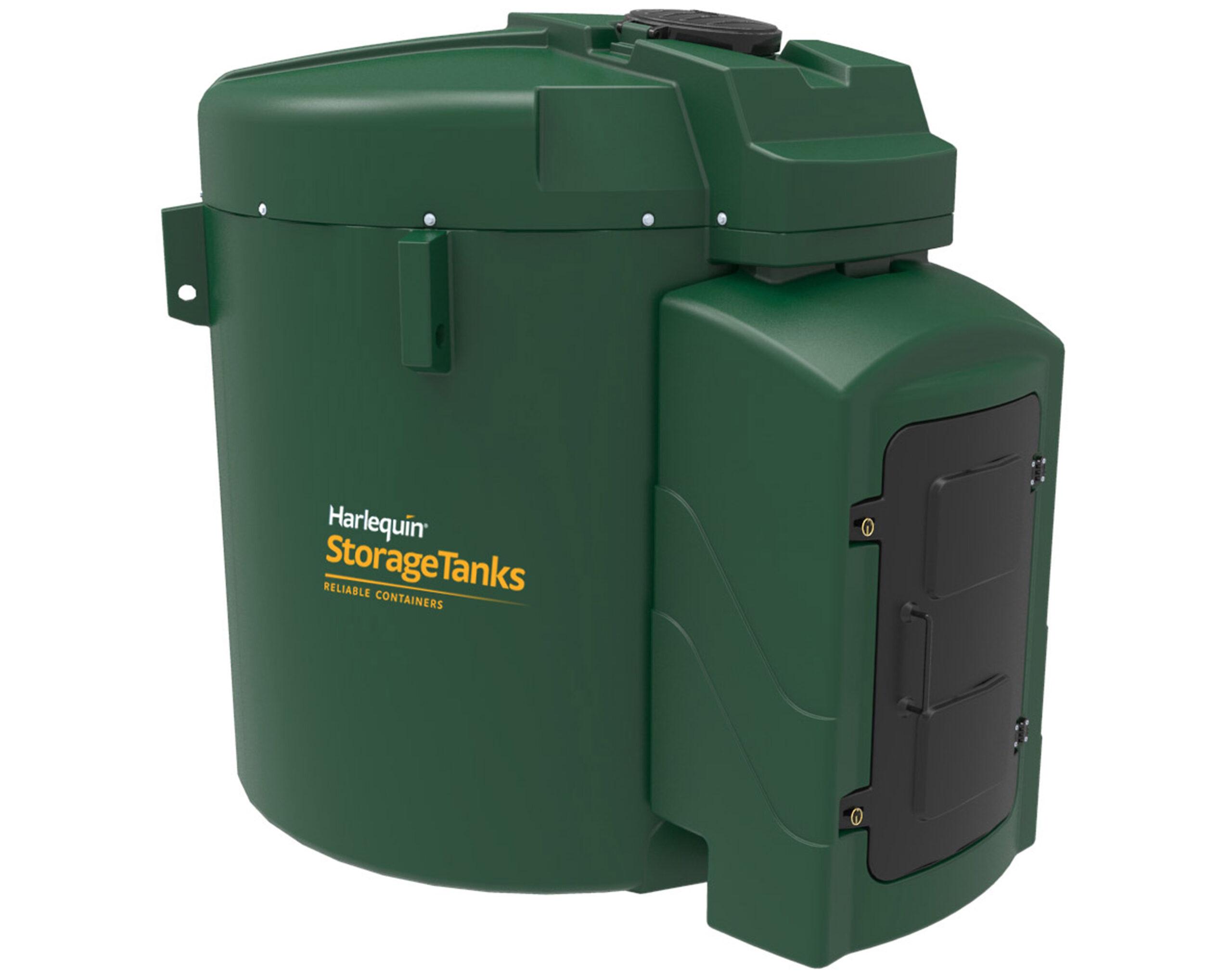 Harlequin 9250FS Fuel Station Bunded Diesel Tank | Tank Depot
