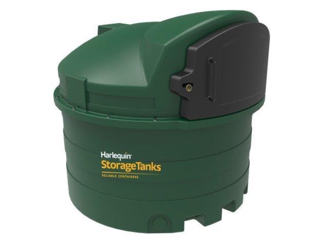 Harlequin 2500FS Fuel Station Bunded Diesel Tank | Tank Depot