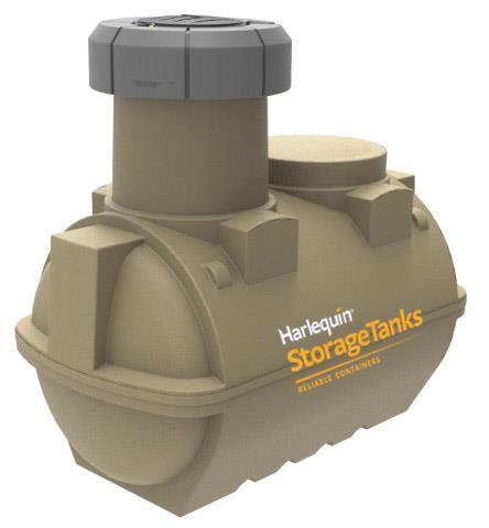 Underground oil tank
